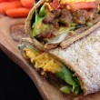 Madras Lentils Wrap Recipe