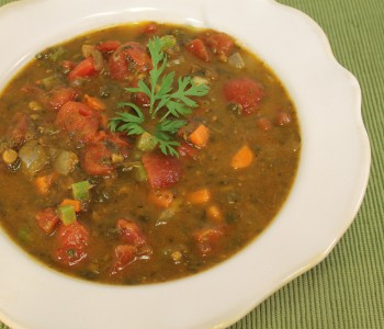 Spinach Dal Soup Image