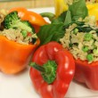 Thai Lime Rice Stuffed Peppers Recipe