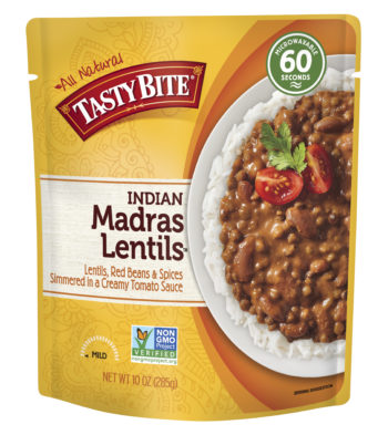 Madras Lentils package