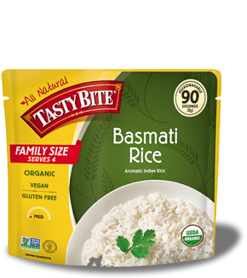 Family Size Basmati Rice package
