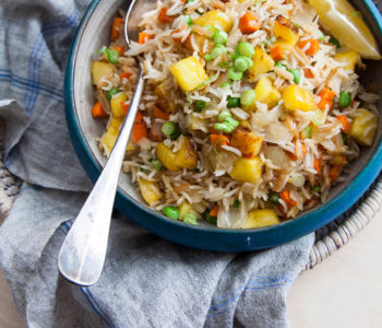 Tasty Pineapple Fried Rice Image