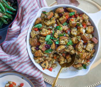 Tasty Veggie Thanksgiving Stuffing Image