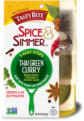 Thai Green Curry package