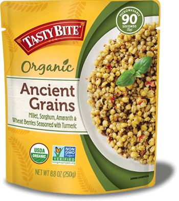 Ancient Grains Rice package