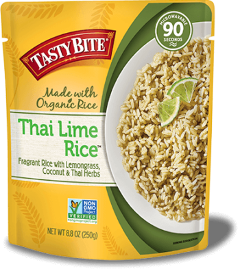 Thai Lime Rice package