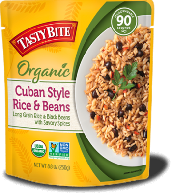 Cuban Rice & Beans package